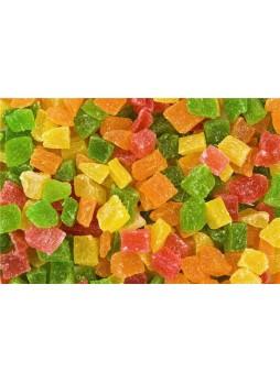 Ананас цукаты кубики 3-5 оптом оптом
