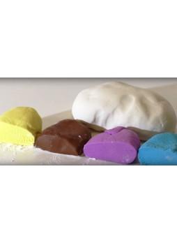 Марципановая масса для покрытия и декорации бесцветная FO Marzipan Dough Natural (12*1 кг)