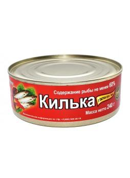 017 Килька в томатном соусе с Чили 240гр. оптом