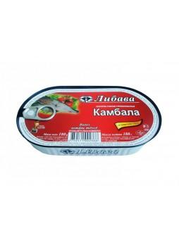 366 Камбала в томатном соусе, ключ, вкладыш 180гр. оптом