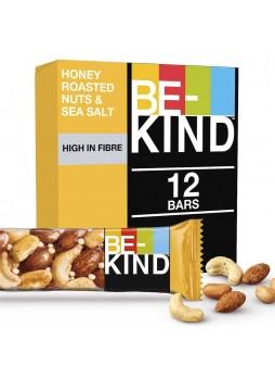 Батончик ореховый Be-Kind® с медом и морской солью 12x40гр упак х6 Великобритания (КОД 35205)(+18°С)