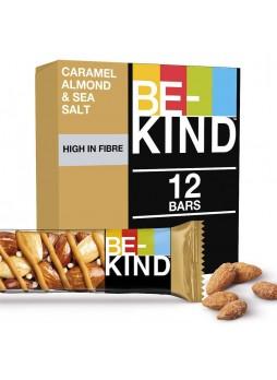 Батончик ореховый Be-Kind® миндальный мед, карамель и морск.соль 12x40гр упак х 6 Австрия(КОД 35387)