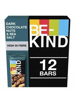 Батончик ореховый Be-Kind® с горьким шокол и морской солью Be-Kind 12 шт x40гр уп х6 США (КОД 35410)