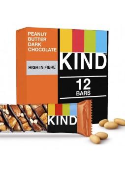 Батончик ореховый Be-Kind® арах-минд с медом и горьким шокол 12х40гр уп х6 США (КОД 35432)(+18°С)