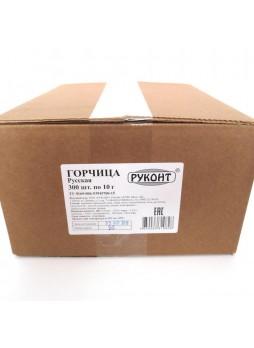 Горчица порц, сашет, 10гр х300, Руконт, Россия (КОД 11110) (О°С)