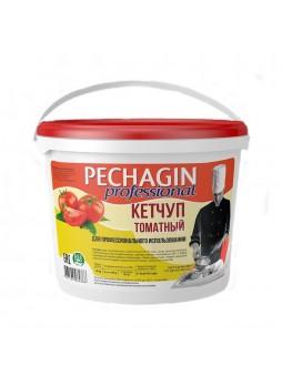 """Кетчуп томатный 1-й категории,""""Печагин"""", 5кг, ведро, Россия (КОД 13315) (О°С)"""