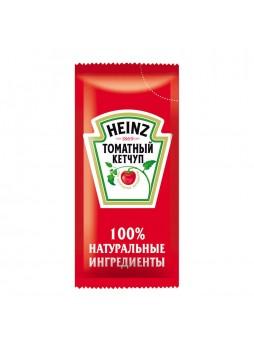 """Кетчуп томатный """"Heinz"""" порц., САШЕТ, 9грx1000шт (КОД 98427) (+18°С)"""