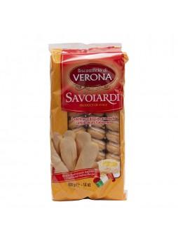 Бисквит Савоярди натур. желток 400гр х15 флоу-пак Verona Италия (КОД 23296) (+18°С)