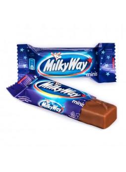 Батончик мини с суфле покрытый мол. шоколадом, 176г, пакет, Milky Way, Россия, (КОД 35828), (+18°С)