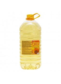 Масло подсолнечное рафинированное 5л х3 пл/б Sunny Gold Россия (КОД 50457) (+18°С)