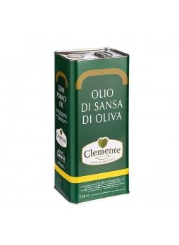 Масло оливковое рафинированное Sansa di Oliva 5л х4 ж/б Clemente Италия (КОД 14365) (+18°С)