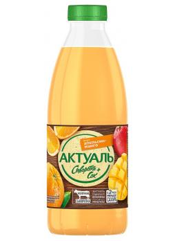 Актуаль Сывороточный напиток Апельсин Манго 930г