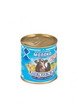 Алексеевское Молоко цельное сгущенное с сахаром, 380г