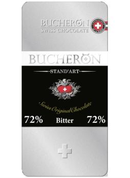 BUCHERON Шоколад Горький 72% какао 100г