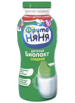 Биолакт ФРУТОНЯНЯ 3,2% с 8 месяцев, 200г