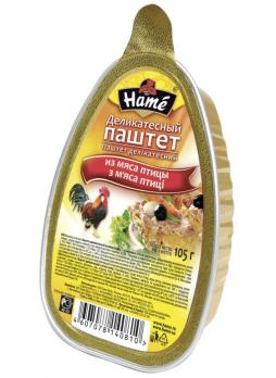 Hame Паштет деликатесный из мяса птицы, 105г