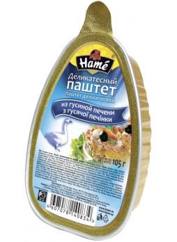 Hame Паштет деликатесный из гусиной печени 105г