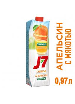 J7 Сок призма апельсиновый, 0,97л