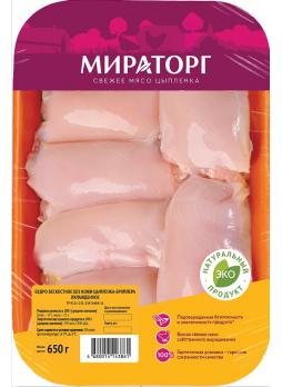Бедро цыпленка-бройлера без кости МИРАТОРГ, 650г