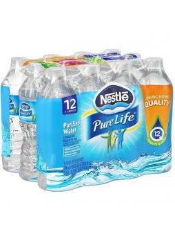 Nestle Pure Life Вода питьевая артезианская негазированная 0,5л