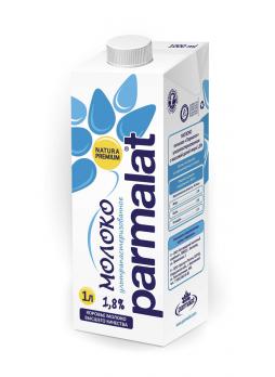 Parmalat Молоко ультрапастеризованное 1,8%, 1л