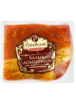 Балык РУБЛЕВСКИЙ Ломберный копчено-вареный вакумная упаковка, 200 г