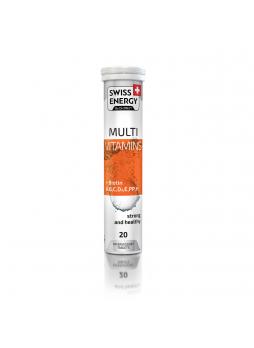 Бад SWISS ENERGY Мультивитамин+биотин №20, 95г