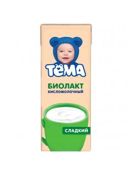 Биолакт ТЕМА 3,2%, 208г БЗМЖ