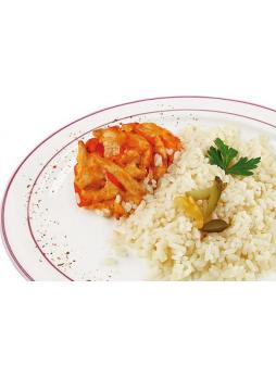 Азу из курицы У ПАЛЫЧА Под сырным соусом с рисом, 250 г