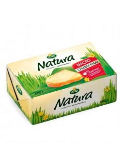 Масло сливочное несоленое 82%, ГОСТ, БЗМЖ, 400г., фольга, Arla Natura, Россия, (КОД 64765), (+5°С)