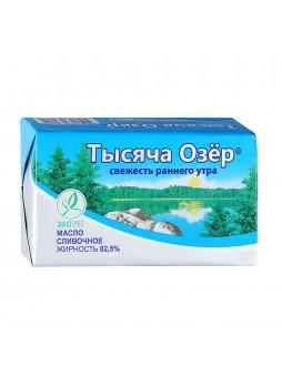 Масло сливочное 82,5%, 450г., фольга, Тысяча Озёр, Россия, (КОД 73511), (-18°С)