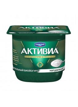Биойогурт 3,5%, 150г х 4 шт., пласт. бокс, Активиа, Россия, (КОД 73506), (+5°С)