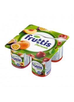 Йогурт. продукт (абрик. манго, ябл., груша) 0,1% 110гр х 4шт ПЭТ Fruttis Россия (КОД 93129) (+18°С)