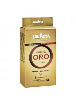 Кофе молотый Qualita Oro, 250г, в/у, Lavazza, Италия, (КОД 34530) (+18°С)