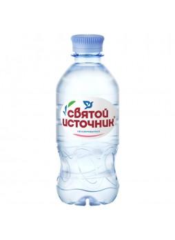 Вода питьевая, артез., негаз., 0,33л. х 12шт, бутылка, Святой Источник, Россия, (КОД 63034), (+18°С)