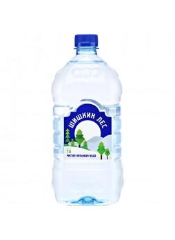 Вода питьевая негазированная 1-я кат. 1л х 12шт пл/б Шишкин лес Россия (КОД 63612) (+18°С)