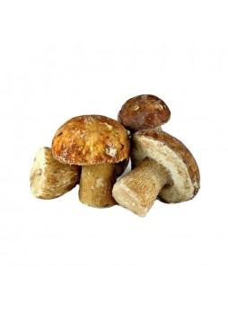 Белые грибы целые, 1 сорт, индивид. заморозка, 15% черв., 8кг (КОР) (КОД 89238) (-18°С)