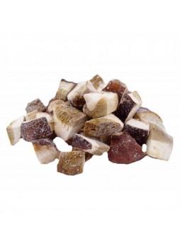 Белые грибы, резаные, кубики, 20 % червивости, 6,5 кг (КОР) (КОД 99332) (-18*С)