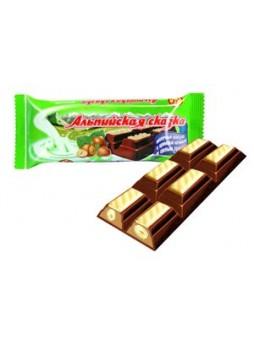 """""""Альпийская сказка"""" молочный шоколад с кремовой начинкой и цельным орехом оптом"""