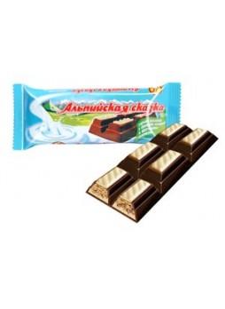 """""""Альпийская сказка"""" горький шоколад с ореховой начинкой и хрустящими шариками оптом"""
