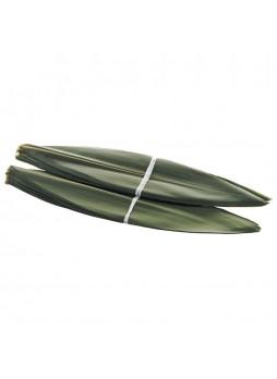 Бамбуковые листья свежие в соляном раств 5х23см 100л 193гр в/у FamBam Food Китай (КОД 98529)(+18°С)