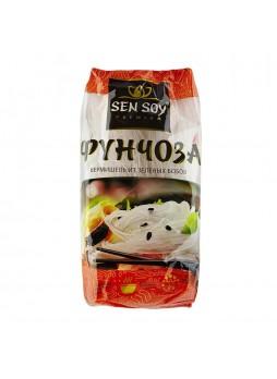 Вермишель Фунчоза премиум 400гр х 15шт пакет Sen Soy Китай (КОД 11569) (+18°С)