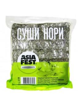 Водоросли Yaki Sushi Nori (Порфира)100лист/уп, 280гр, Asia Fest™ Китай (КОД 40415) (+18°С)