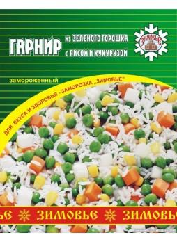 Гарнир из зеленого горошка с рисом и кукурузой оптом