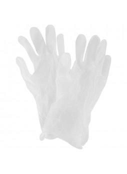 Перчатки виниловые неопудренные , размер M, 100 шт/уп (прозрачные) OptiLine Китай(КОД 35756) (+18°С)